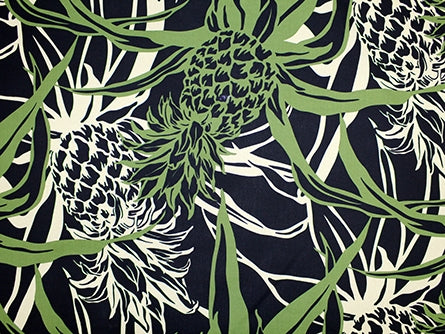 Hawaiian Fabric - PINEAPPLE DESIGN 1
