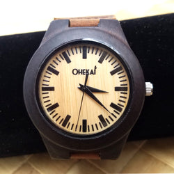Ohekai Ebony Watch