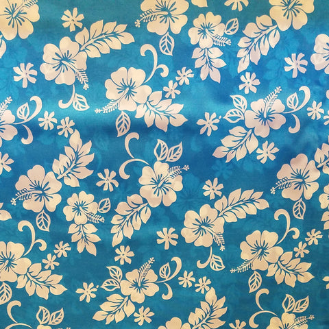 Hawaiian Fabric - FLORAL DESIGN 2