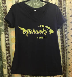 ALOHAWKS V-Neck T-Shirt