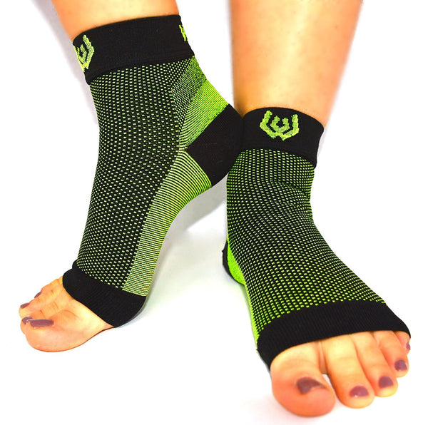 Compression Recovery Foot Sleeve - Green