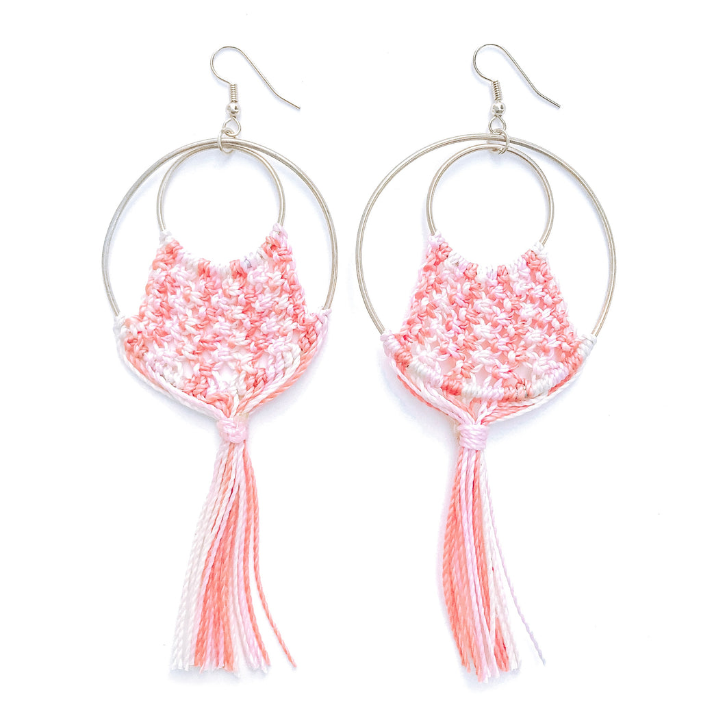 Lyla Pink Earrings