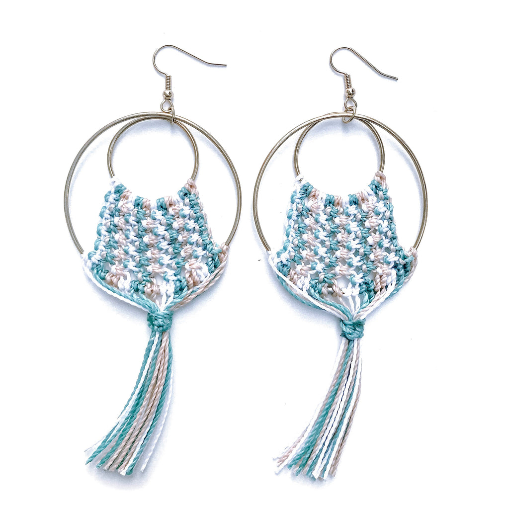 Lyla Teal Earrings