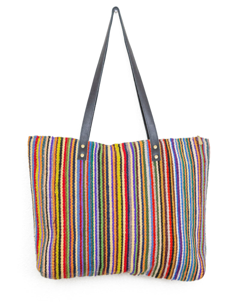 Fern Tote from Oaxaca Laadi Designs