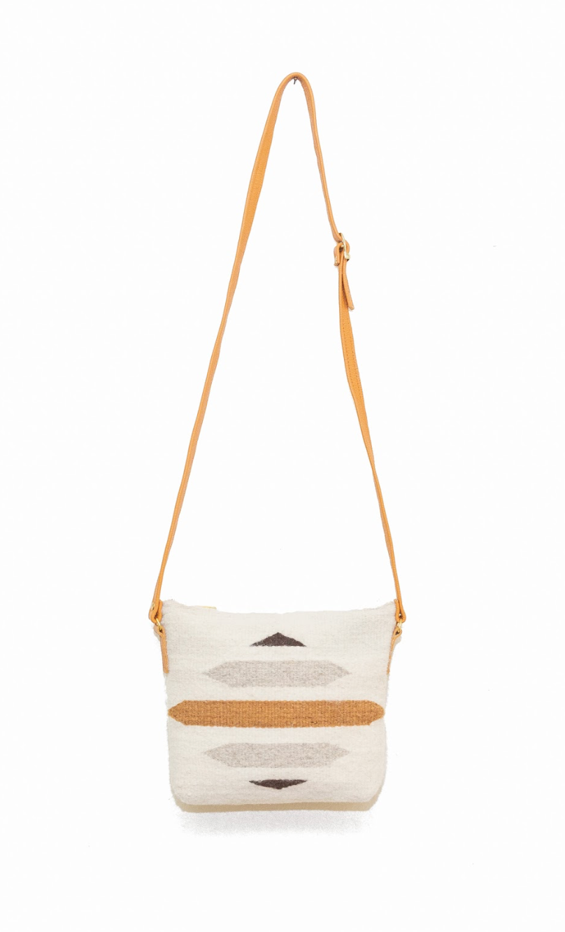 Paz Cream Crossbody