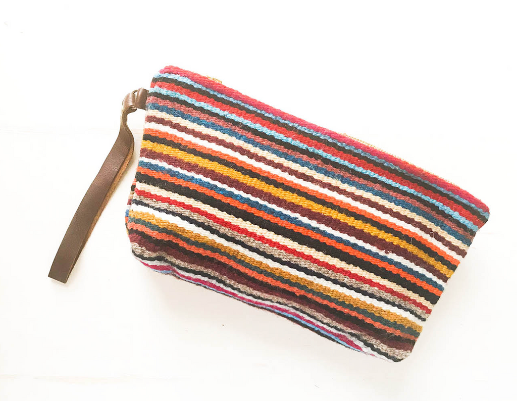 Fall Colors Wristlet