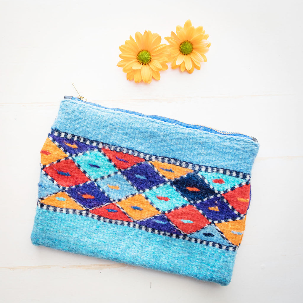 Sophie Lt. Blue Clutch