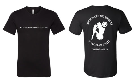 White Claws and Wheelies T-shirt (Women's Sizes Now Available!)