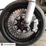 Warp 9 Supermoto Budget Conversion Wheels and Tires