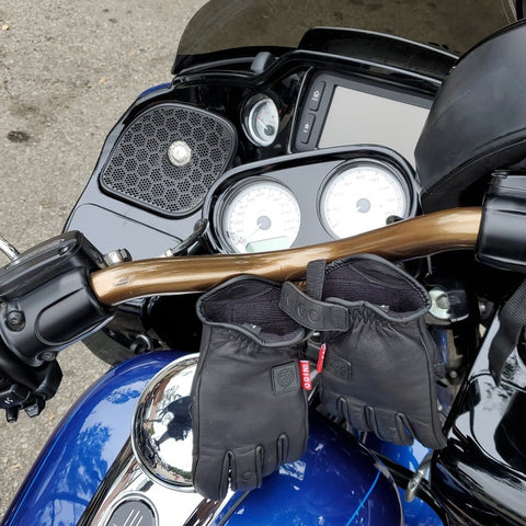 Roadglide VT-Bars with Gauge Relocation