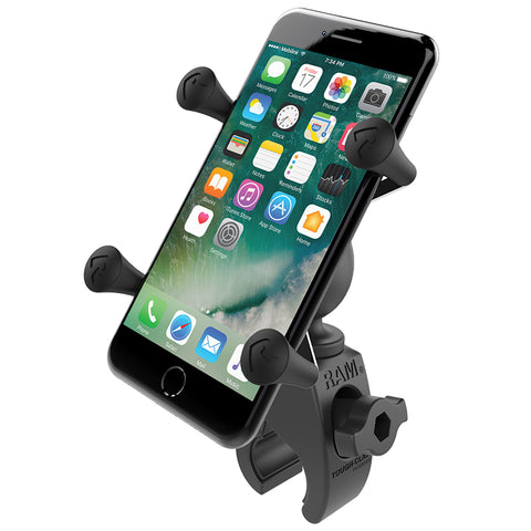 RAM® X-Grip® Phone Mount with Low Profile RAM® Tough-Claw™ Base