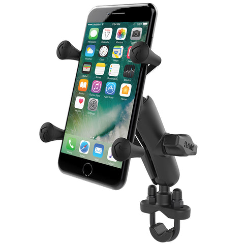 RAM® X-Grip® Phone Mount with Handlebar U-Bolt Base
