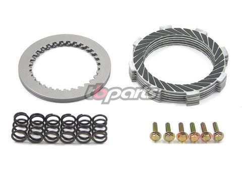 TBPARTS - HEAVY DUTY 5 PLATE KEVLAR CLUTCH & HD SPRINGS DRZ110 - KLX110 - Z125
