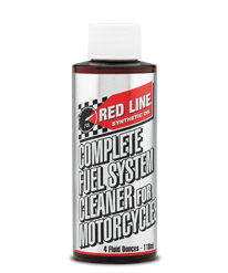 Redline Complete Fuel System Cleaner for Motorcycles