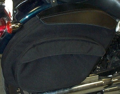 LeatherPro© FXDXT Retro T-Sport Saddlebags V3