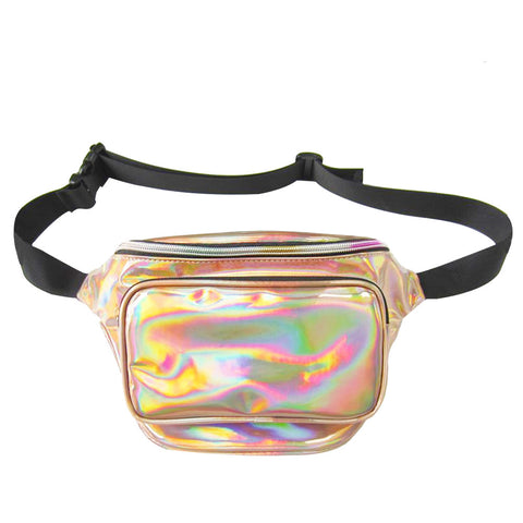Holographic Fanny Pack (Gold)