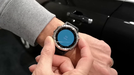 Unlocking car with smartwatch