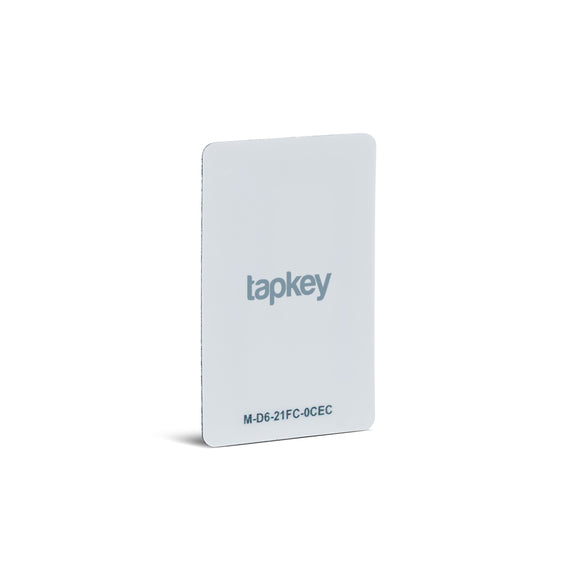 White Tapkey NFC Sticker