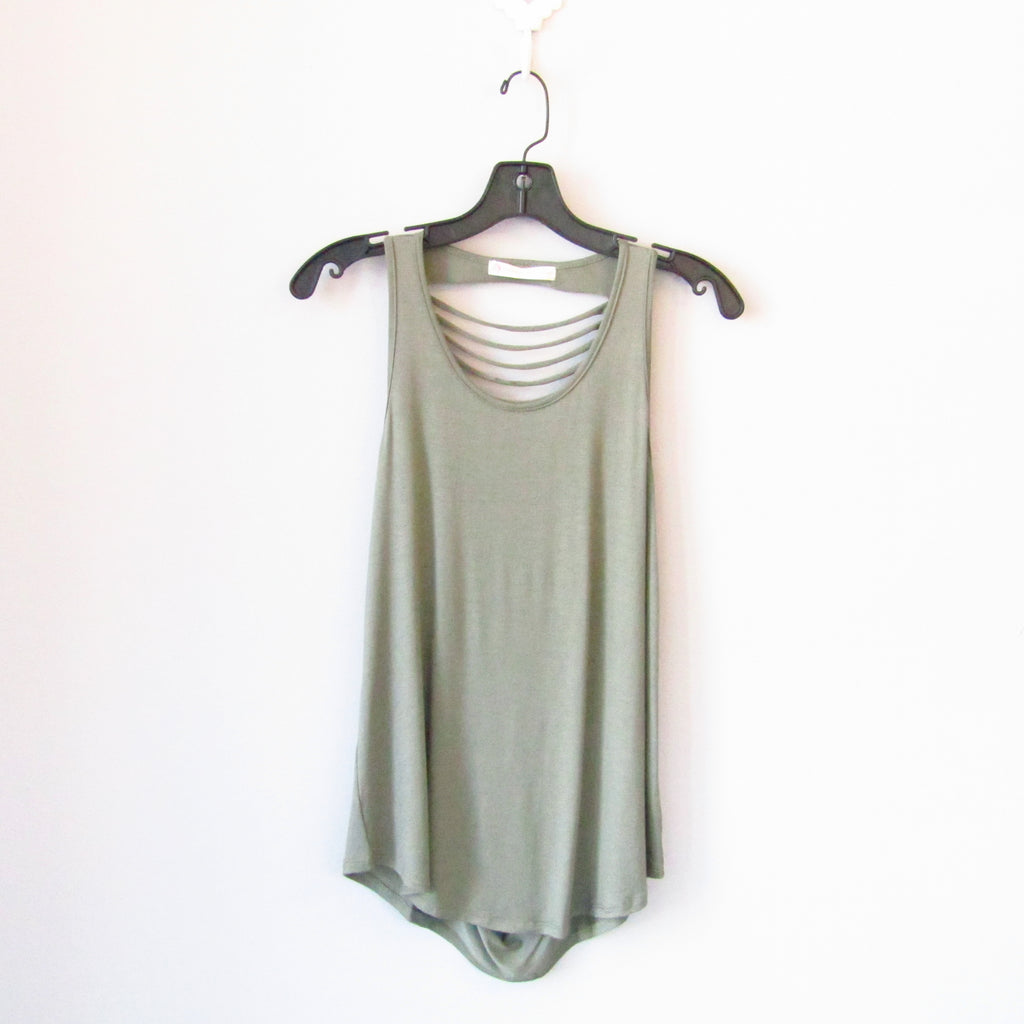 AFC - Shredded Tank - Olive