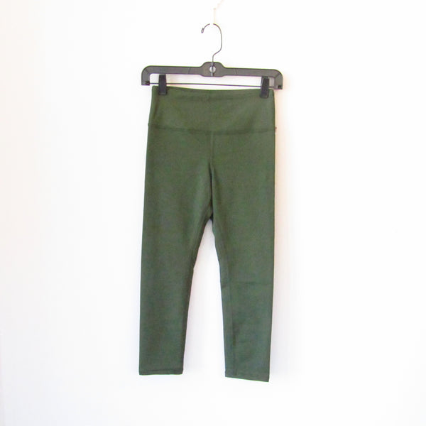Compression Capri Legging - Olive