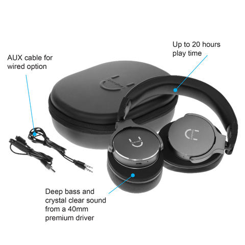 U Evolve Headphones with ANC - Space Grey - U Speakers