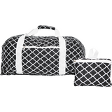 Perfect Travel Bag|Folding Duffel in Christina