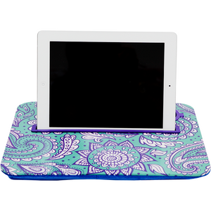 Purple Pattern and Solid Purple Tray Set|Tech - Fashionit_inc