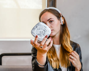 Powerpad Beauty White Marble|Tech - Fashionit USpeakers