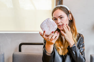Powerpad Beauty Pink Marble|Tech - Fashionit USpeakers