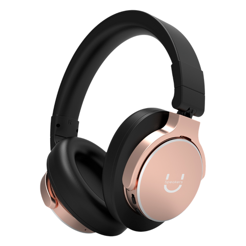 U Evolve Headphones with ANC - Rose Gold - U Speakers