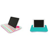 Tablet Tray Set-Colorful Chevron and Teal|Tech - Fashionit_inc