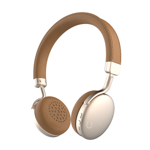 U Wireless Headphones - Brown|Tech - Fashionit USpeakers