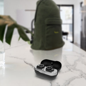 U BUDS BLACK- Wireless Stereo Earbuds|Tech - Fashionit USpeakers