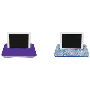 Purple and Paisley Green Tablet Ipad Tray