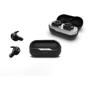 U BUDS BLACK- WIRELESS STEREO EARBUDS|Tech - Fashionit_inc