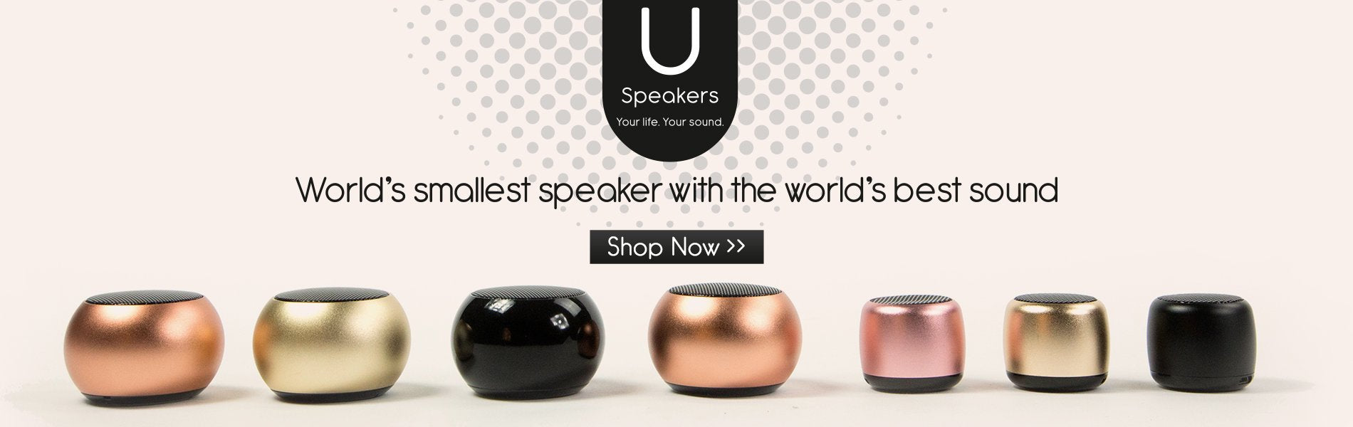 U Speakers-World's Smallest Speakers with Great Sound