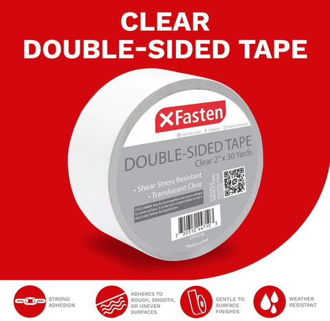 Click here to purchase the XFasten Clear Double-sided Tape!