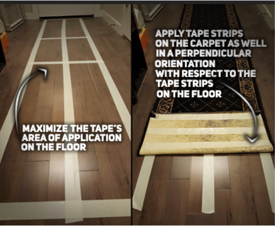 How to Use Carpet Tape Installation