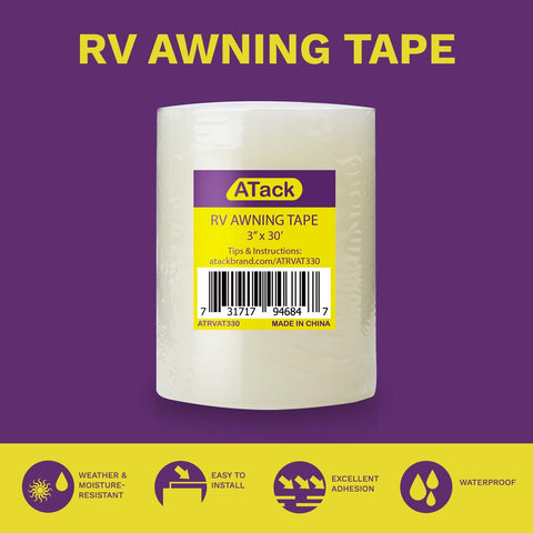 Click Here Purchase the ATack RV Awning Tape