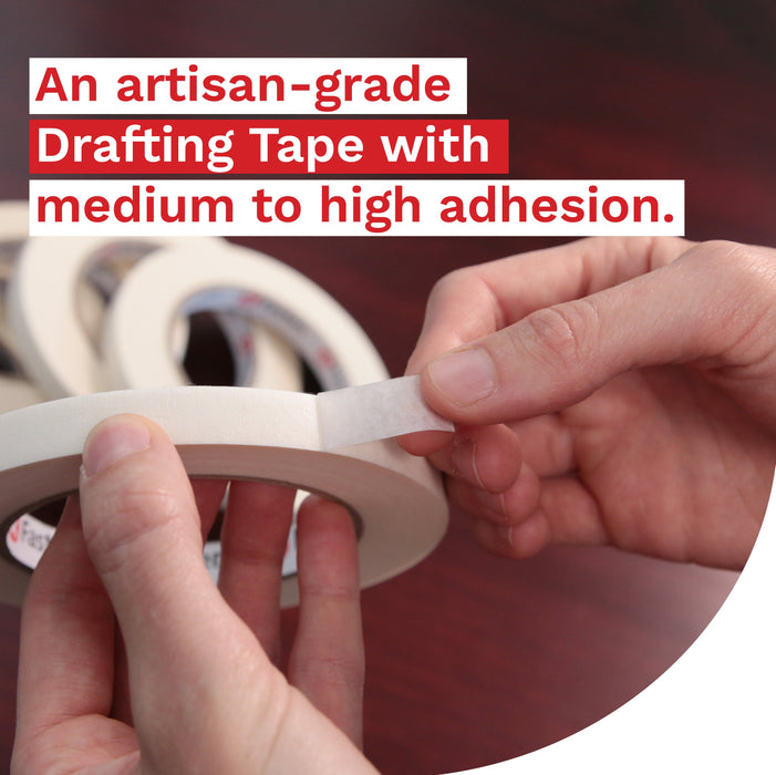 XFasten Artisan Grade Drafting Tape, 1/2 Inches x 60 Yards, Pack of 6 - XFasten
