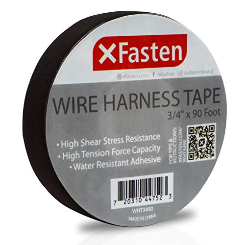 "XFasten Wire Harness Tape - 3/4"" x 90 Foot (Single Roll)"