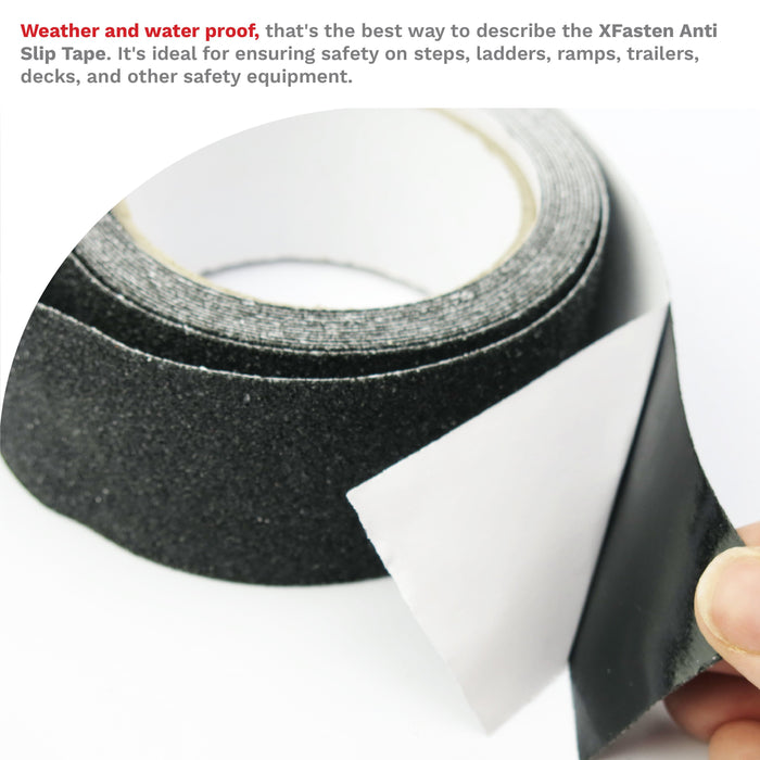 XFasten Anti Slip Tape, 2-Inch by 15-Foot