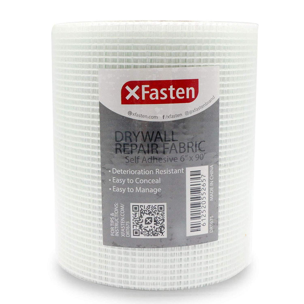 XFasten Drywall Repair Tape, 6-Inch by 90-Foot - XFasten