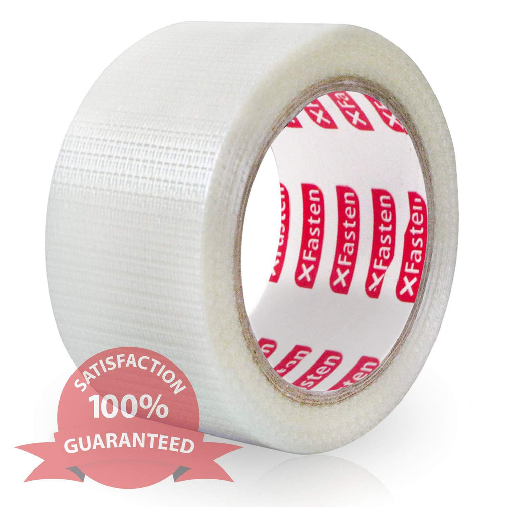 XFasten Transparent Duct Tape, 2 Inches x 30 Yards - XFasten