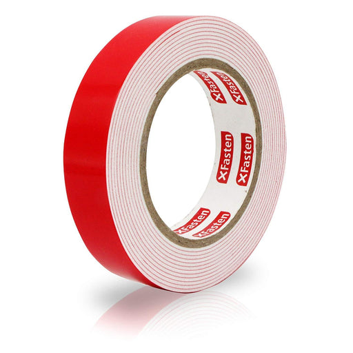 XFasten Double Sided Tape Foam Mounting Tape, 1-Inch x 150-Inch - XFasten