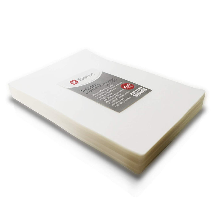 XFasten Thermal Laminating Pouches 3 mil Pack of 200, 8.9 x 11.4 Inches Letter Size - XFasten