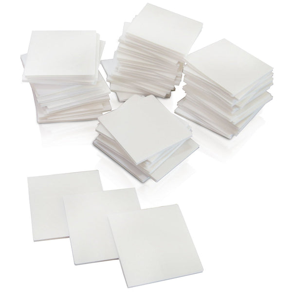 XFasten Double Sided Adhesive Mounting Squares, 1.5 Inch, Pack of 60