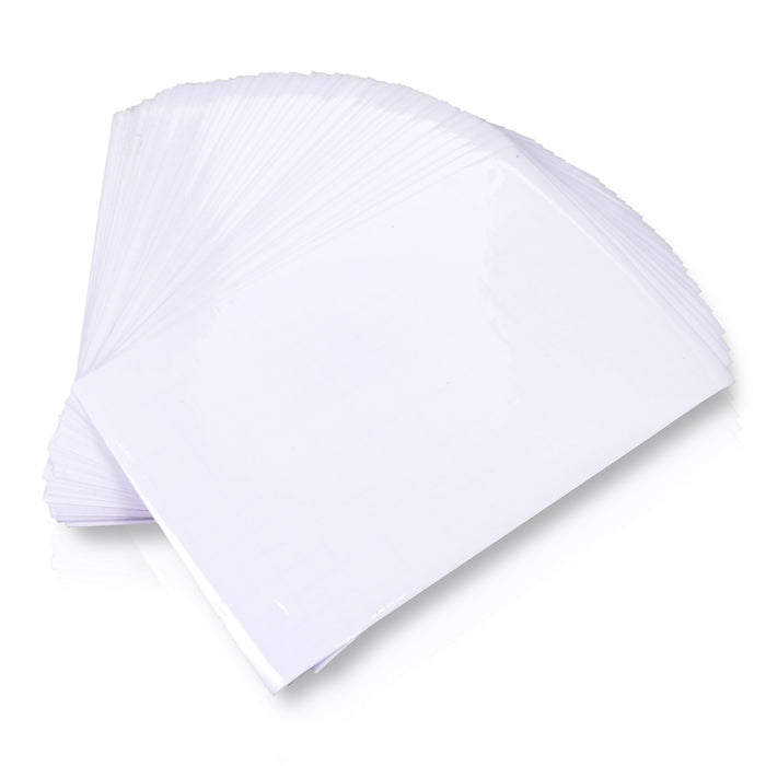 XFasten Self-Adhesive Laminating Sheets, 6 x 9 Inches, Pack of 100 - XFasten