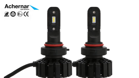 Achernar Light Systems HB3/HB4 Led 6000k 60watt 5000 Lumen +300% 2019Mod - 2stk