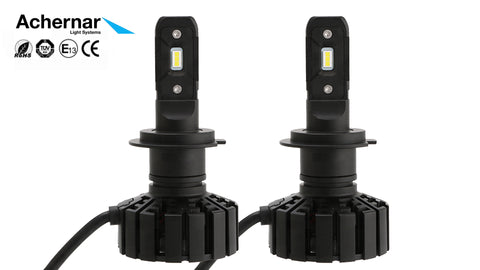 Achernar Light Systems H7 Led 6000k 60watt 5000 Lumen +300% 2019Mod - 2stk